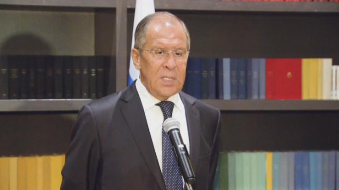 Russia: Lavrov slams UK FM's proposal tightening Kremlin sanctions