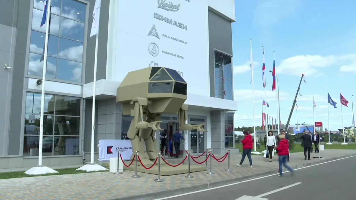 Internet goes NUTS AND BOLTS for Kalashnikov's huge bipedal robot