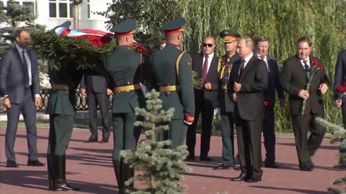 Russia: Putin honours Battle of Kursk 75th anniversary