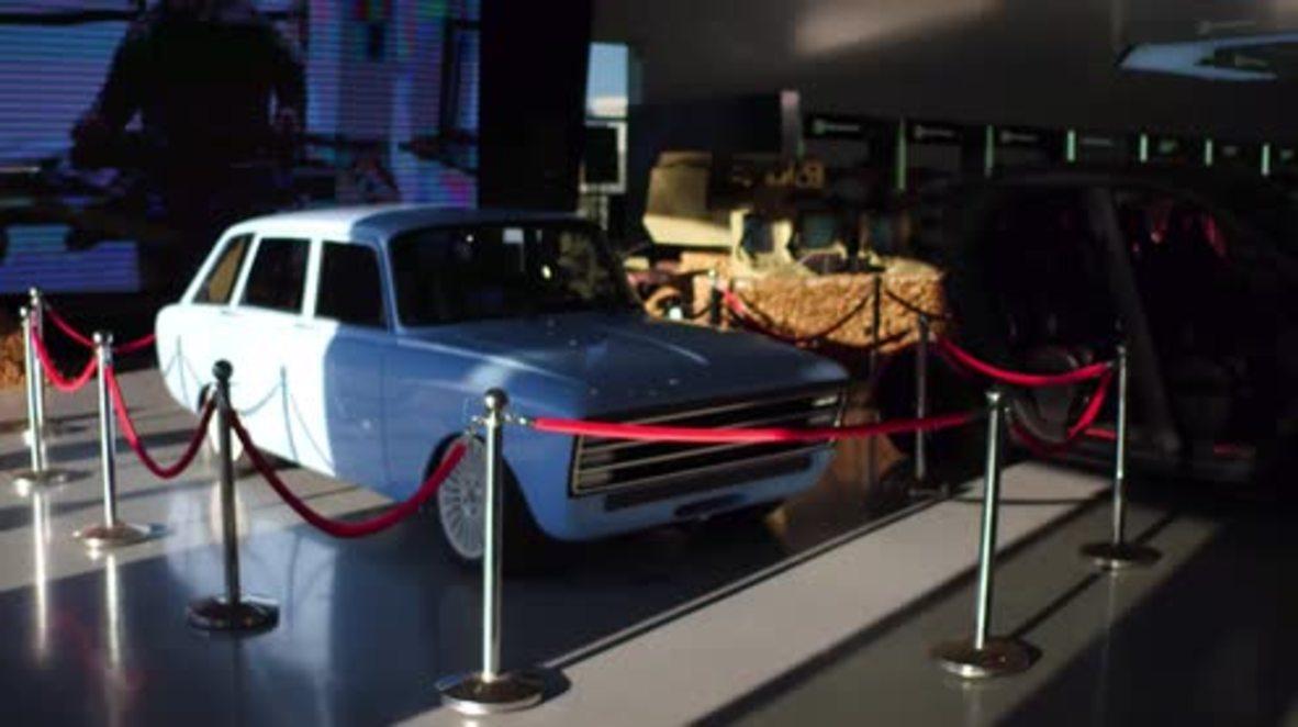 Russia: Kalashnikov unveils future Tesla rival with retro-look