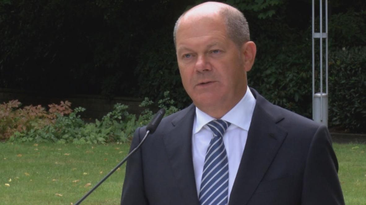 Germany: FM Scholz hopes for prosperous US trade talks