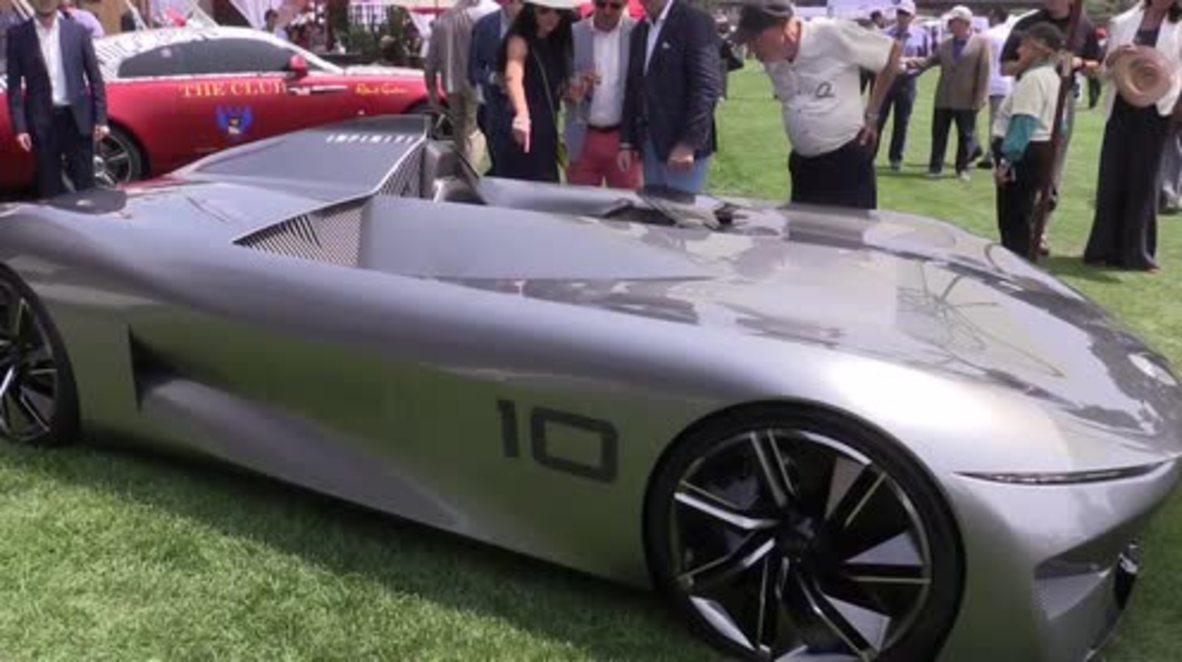 USA: Infiniti shows electrifying glimpse into future at Monterey auto week