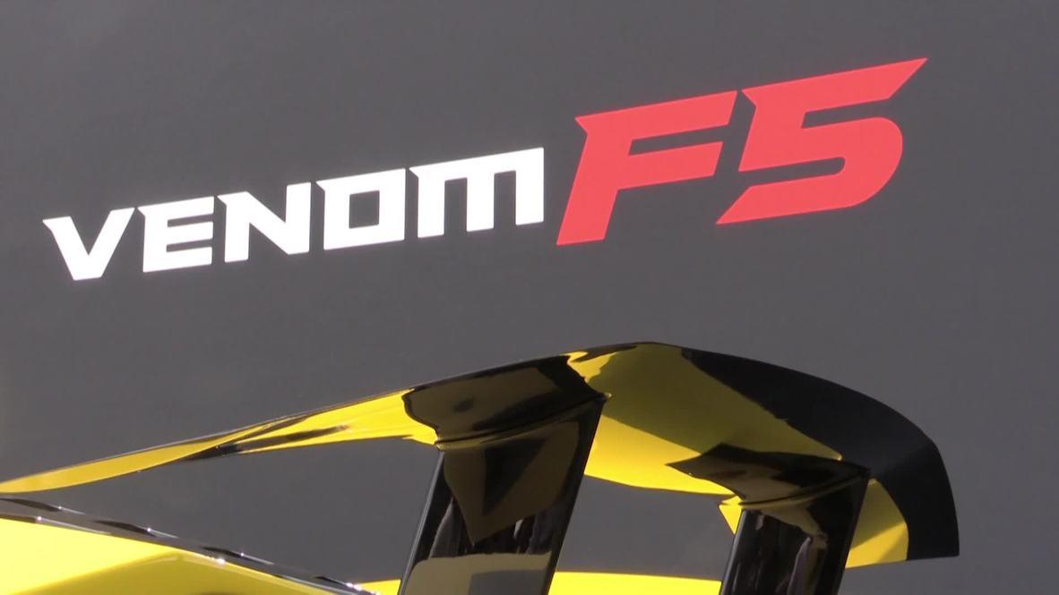 USA: Hennessey showcases ultra-exclusive $1.6m Venom F5 in Monterey
