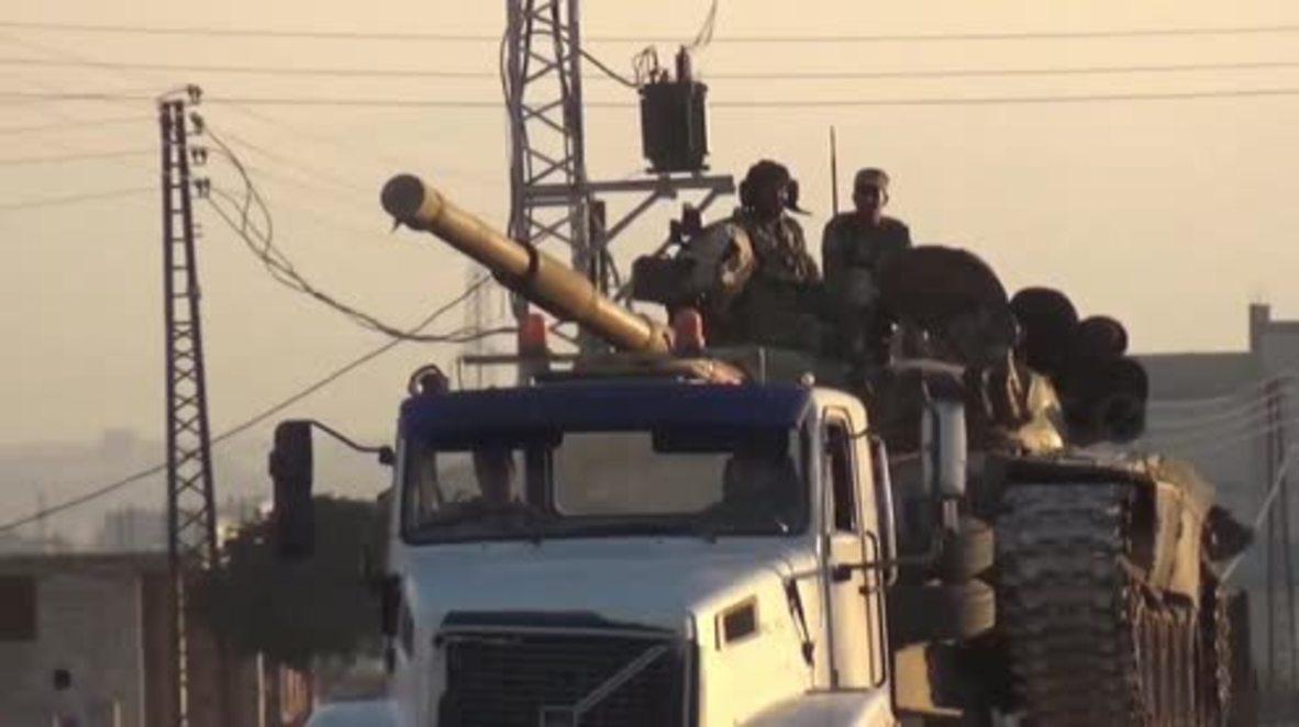 """Siria: El Ejército Árabe Sirio avanza hacia Idlib para la """"batalla final"""" contra los grupos militantes"""
