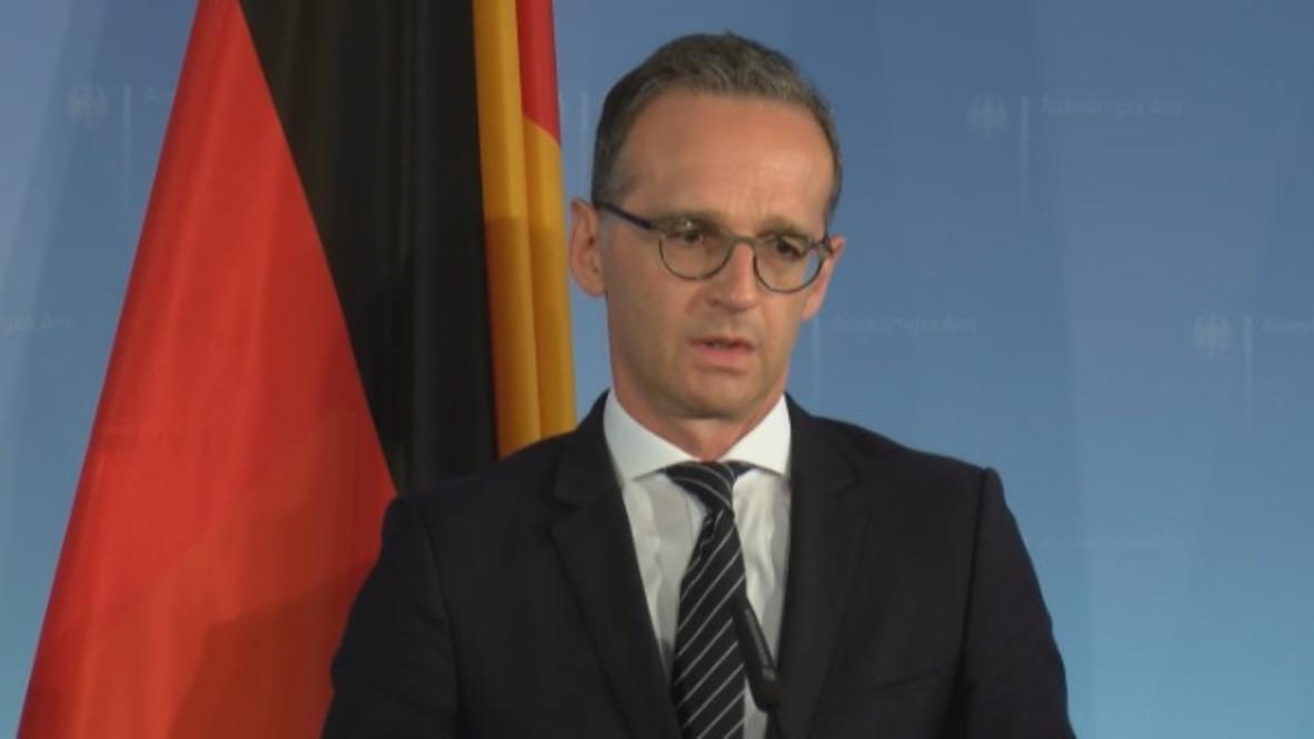 Germany: Perpetrators of Chemnitz riots 'must be held accountable' - FM Heiko Maas