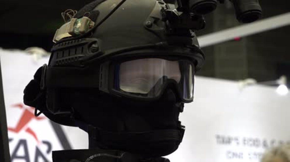 Japan: Latest anti-terror gadgets showcased ahead of 2020 Olympics