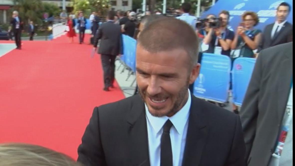Mónaco: Estrellas del pasado y del presente se dan cita en los premios de la UEFA en Montecarlo