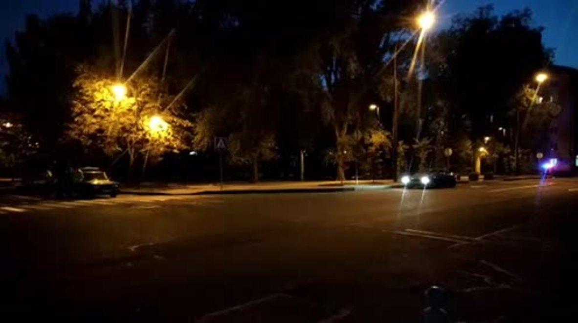 Ukraine: Footage shows Donetsk street on lockdown following blast that killed Zakharchenko
