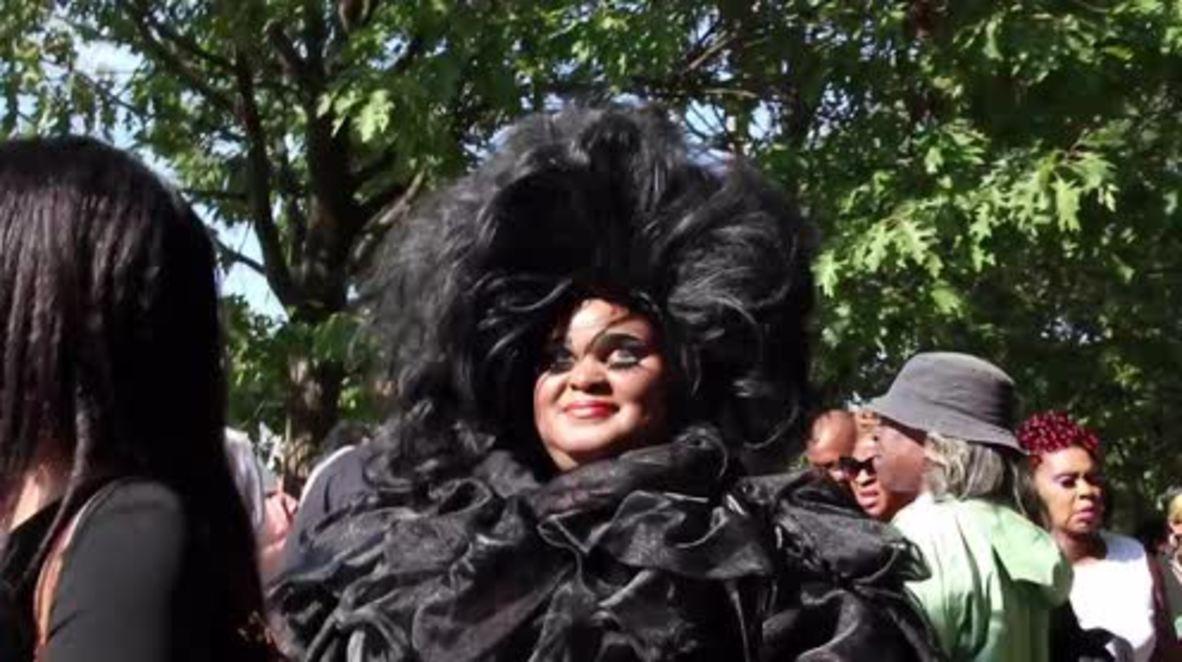 EE.UU.: Amigos, familiares y fans de Aretha Franklin se reúnen en Detroit para el funeral de la Reina del Soul