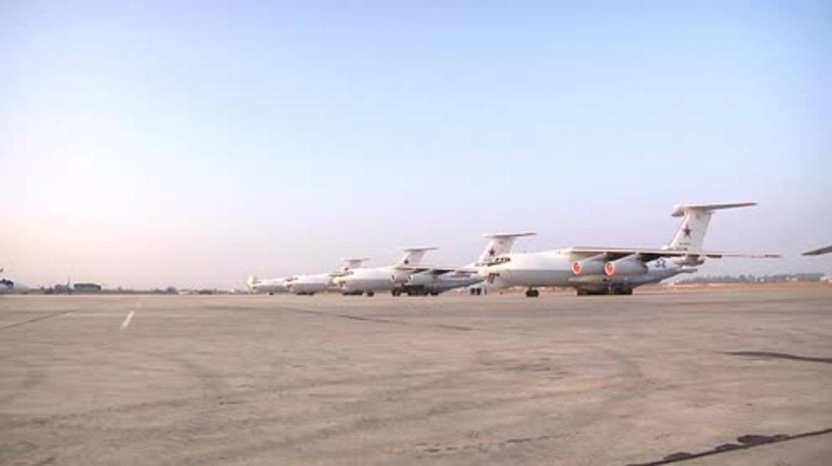 Mar Mediterráneo: Aviones rusos realizan maniobras de repostaje en pleno vuelo como parte de unos ejercicios militares