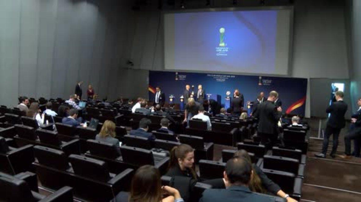 Switzerland: FIFA held Club World Cup draw in Zurich