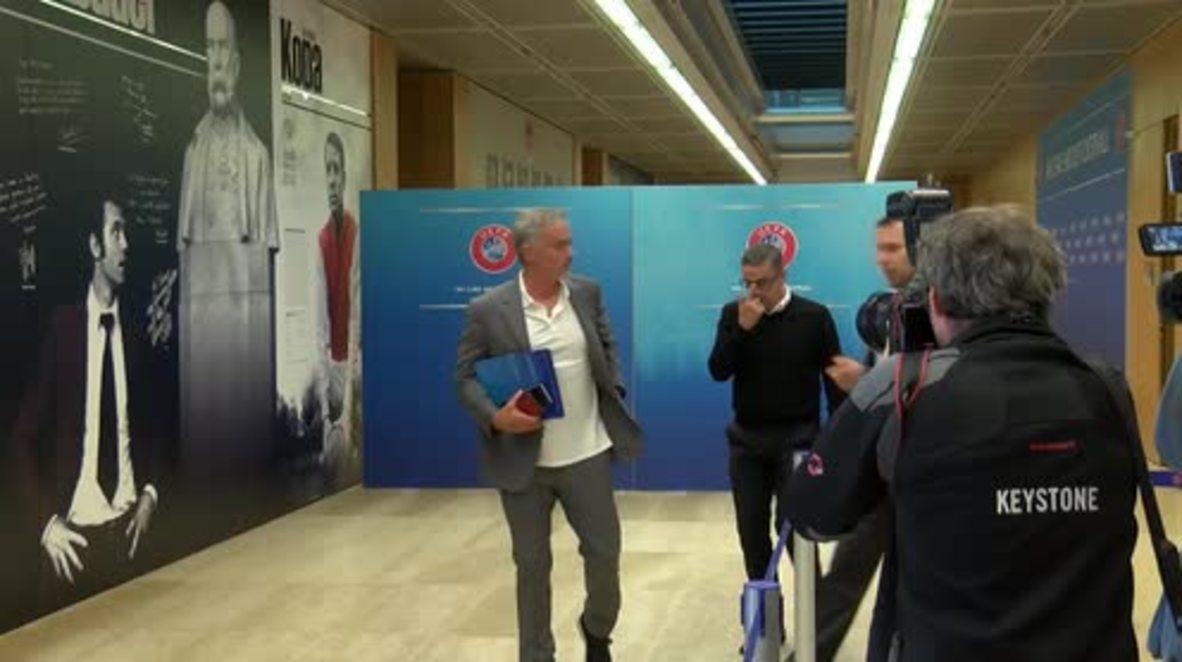 Suiza: El Foro de Entrenadores de la UEFA se reúne en Nyon para tratar diferentes asuntos deportivos