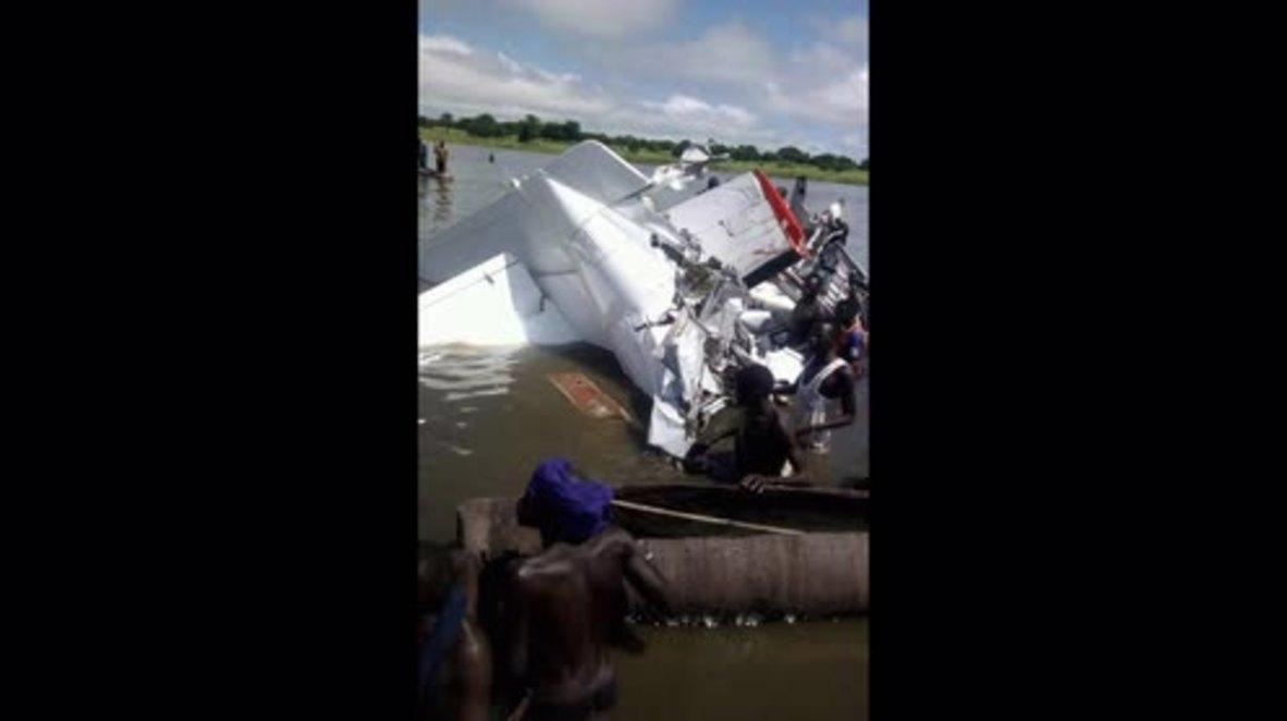 Sudán del Sur: 17 muertos en accidente aéreo *FOTOGRAFÍAS*