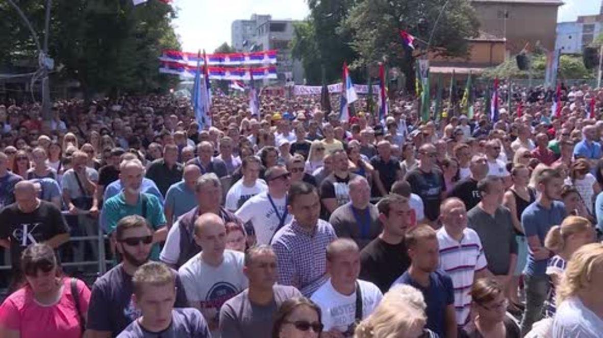 Serbia: Vucic will 'fight for Serbia' in Kosovo land swap