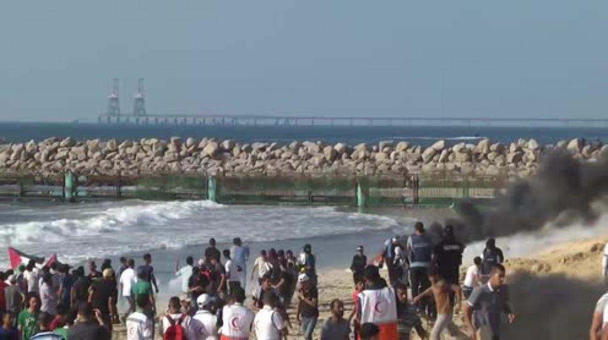 "Estado de Palestina: La ""Flotilla de la Libertad 7"" trata de romper el bloqueo naval impuesto sobre Gaza"