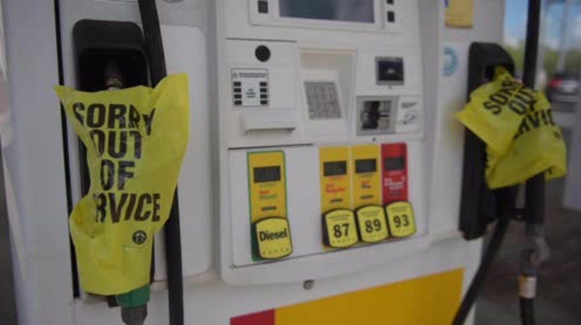 EE.UU.: La inminente llegada de huracán Florence vacía las estanterías y las gasolineras mientras la gente se prepara para evacuar