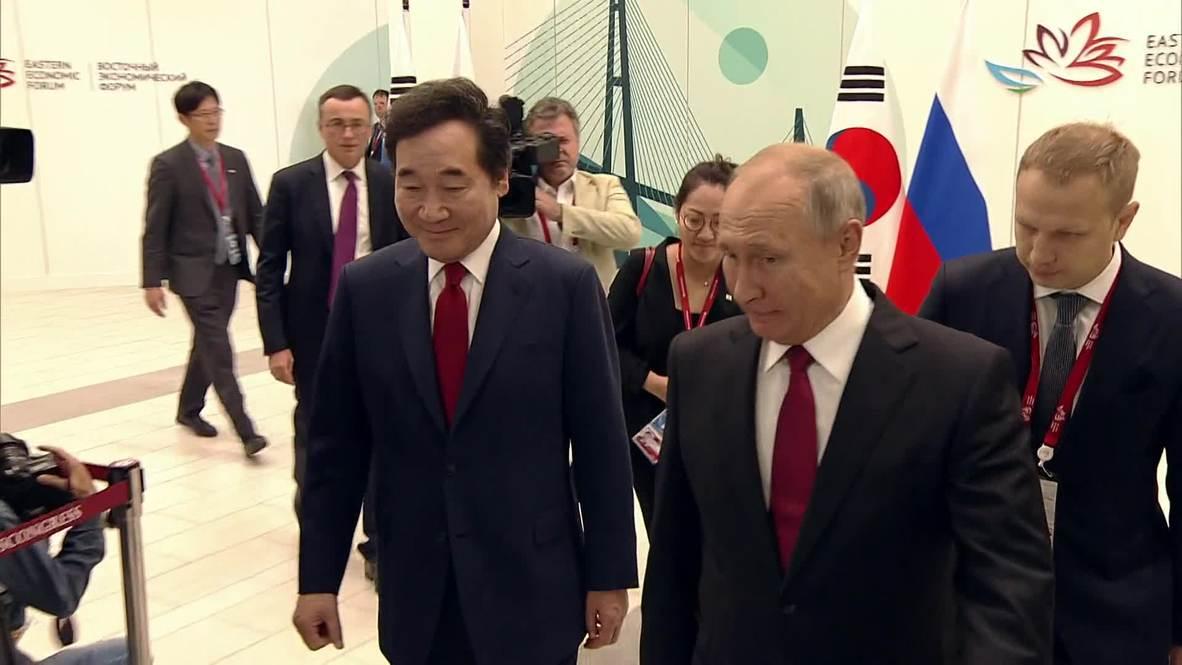 Russia: Korean PM thanks Putin for support in denuclearisation of Korean Peninsula
