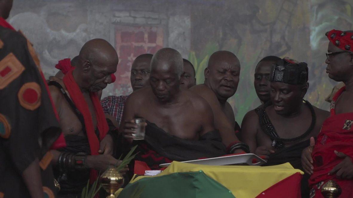 Ghana: La viuda de Kofi Annan se une a diversos dignatarios para despedir al exsecretario general de la ONU