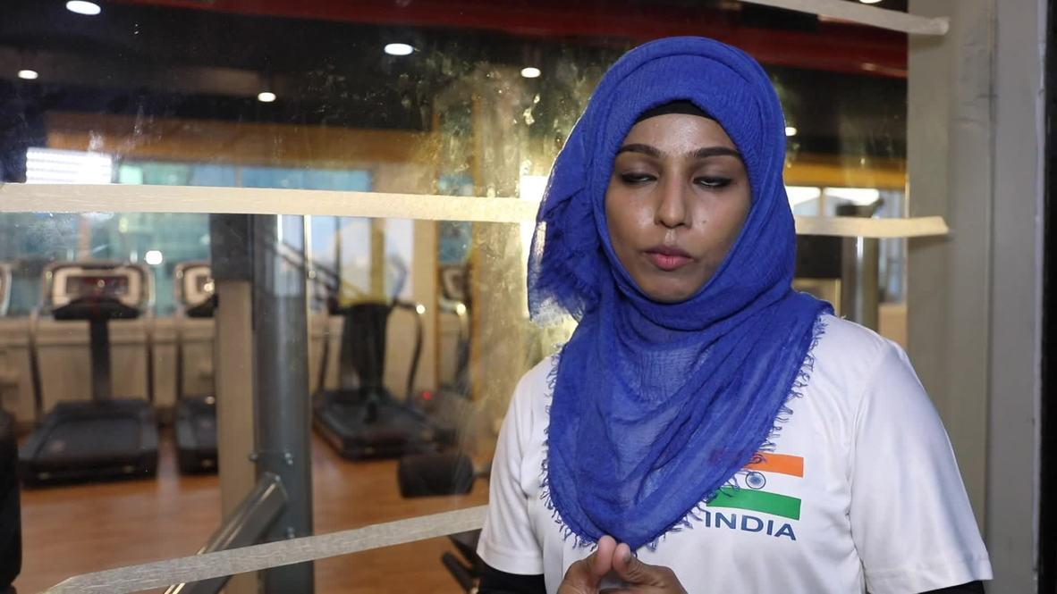 Hijabi-wearing bodybuilder is pushing past stereotypes in Kerala