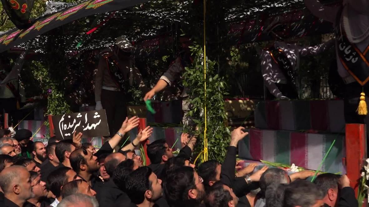 Iran: 135 unidentified soldiers of Iran-Iraq War receive funeral