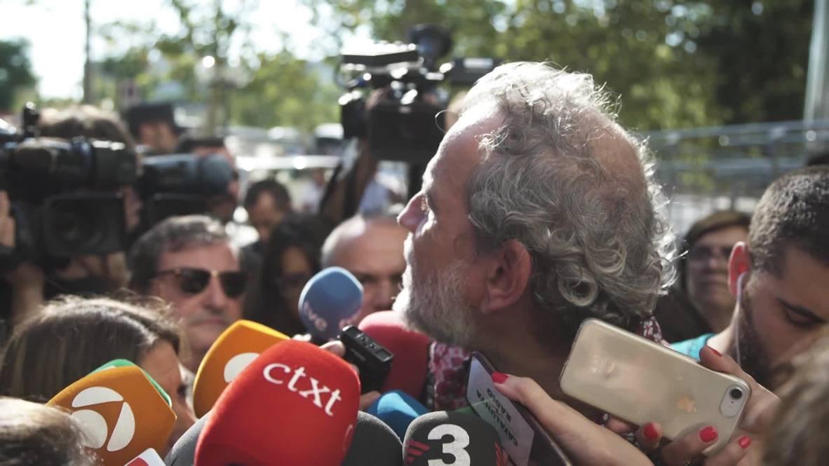 España: '¡Me cago en Dios!' El actor Willy Toledo, acusado de blasfemia, queda en libertad