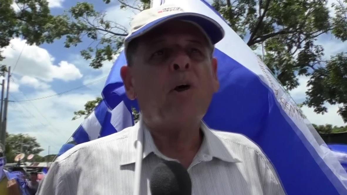 Nicaragua: Una protesta multitudinaria contra Ortega toma las calles de Managua en el Día de la Independencia
