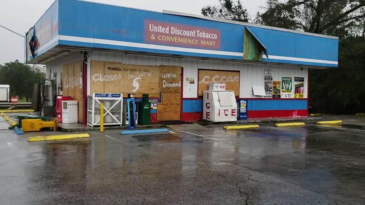 EE.UU.: El huracán Florence deja un rastro de caos y destrucción tras su paso por Topsail Beach