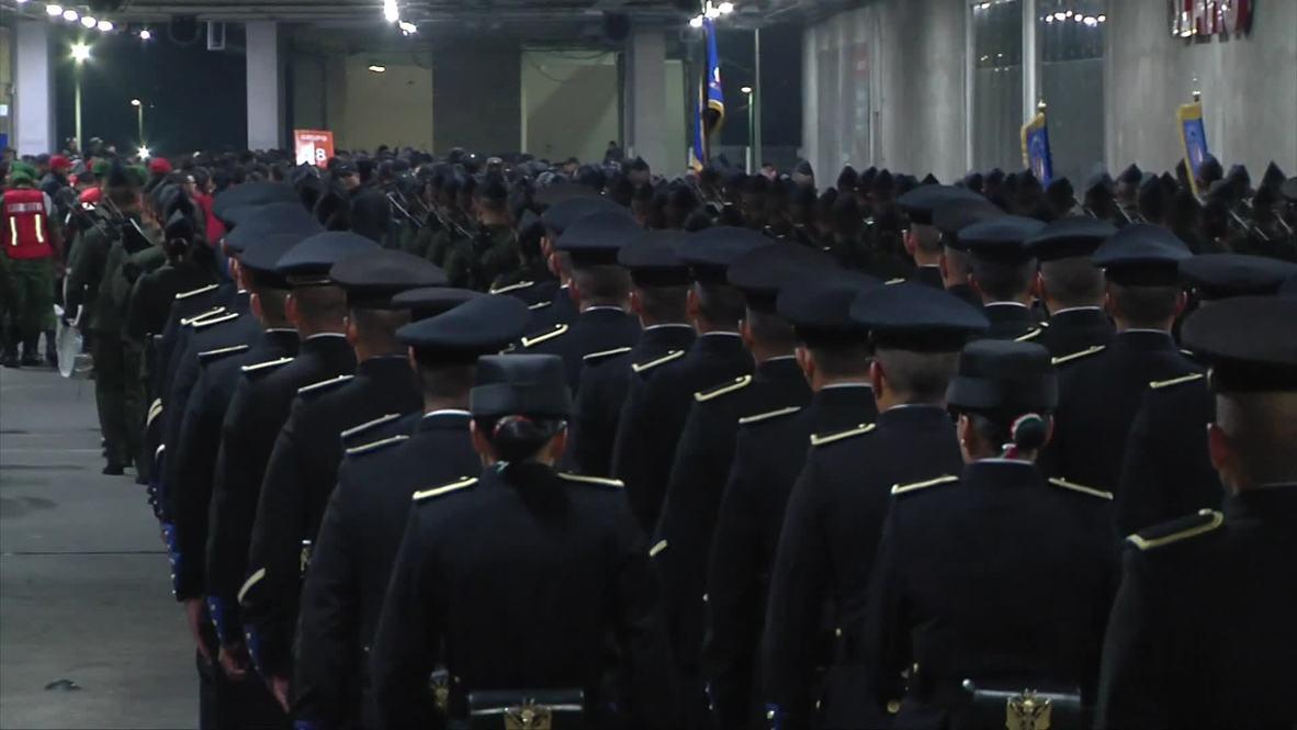 México: 8.000 soldados toman el metro en Ciudad de México para acudir a los desfiles del Día de la Independencia