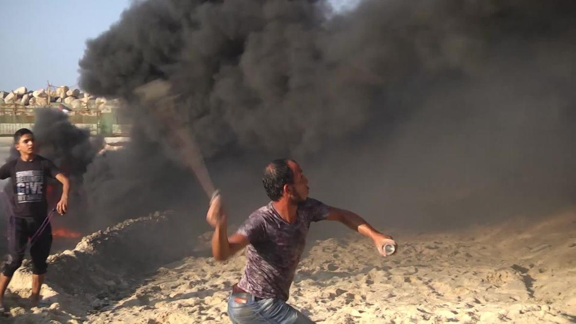 State of Palestine: Israeli forces break up Gaza Strip port protest
