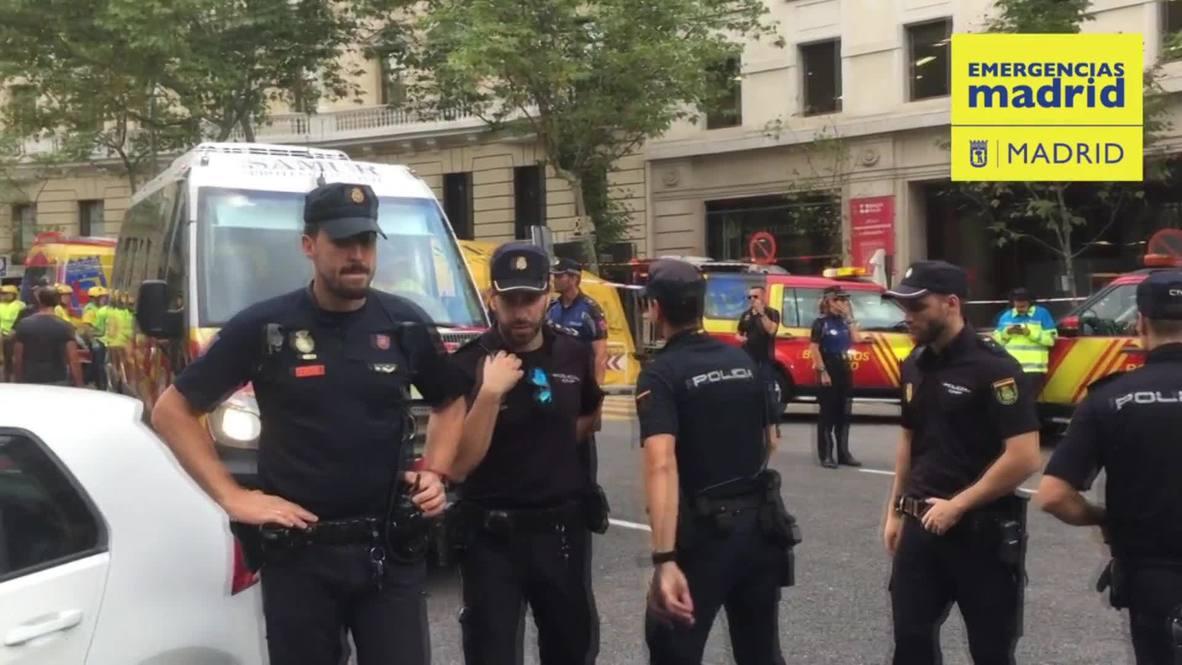 España: Un trabajador muere y otros 11 resultan heridos en un derrumbe en el Hotel Ritz de Madrid