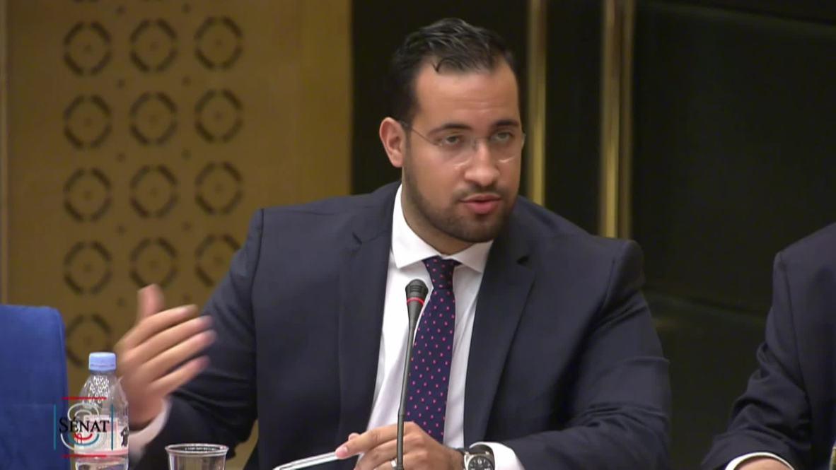France: Fmr security head Benalla has 'deep regret' over senator comments