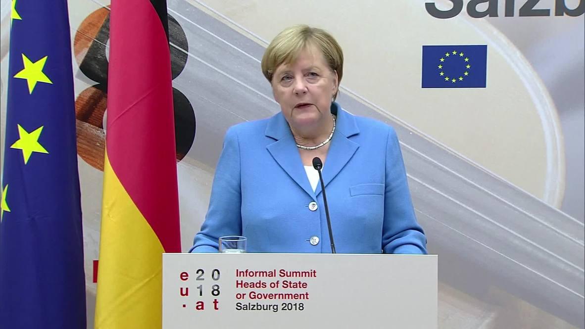Austria: EU will not compromise internal market in Brexit talks – Merkel