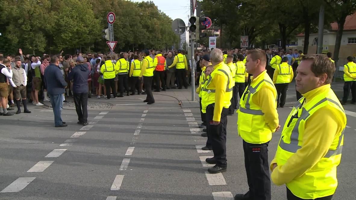 Alemania: Reforzadas medidas de seguridad en Múnich ante el 185 ° Oktoberfest