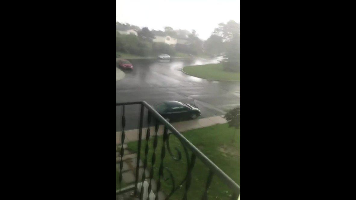 Canadá: Vea como este tornado genera daños en la ciudad de Ottawa