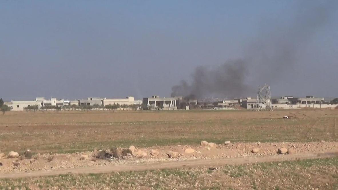 Syria: Idlib humanitarian corridor's opening delayed by mortar shelling