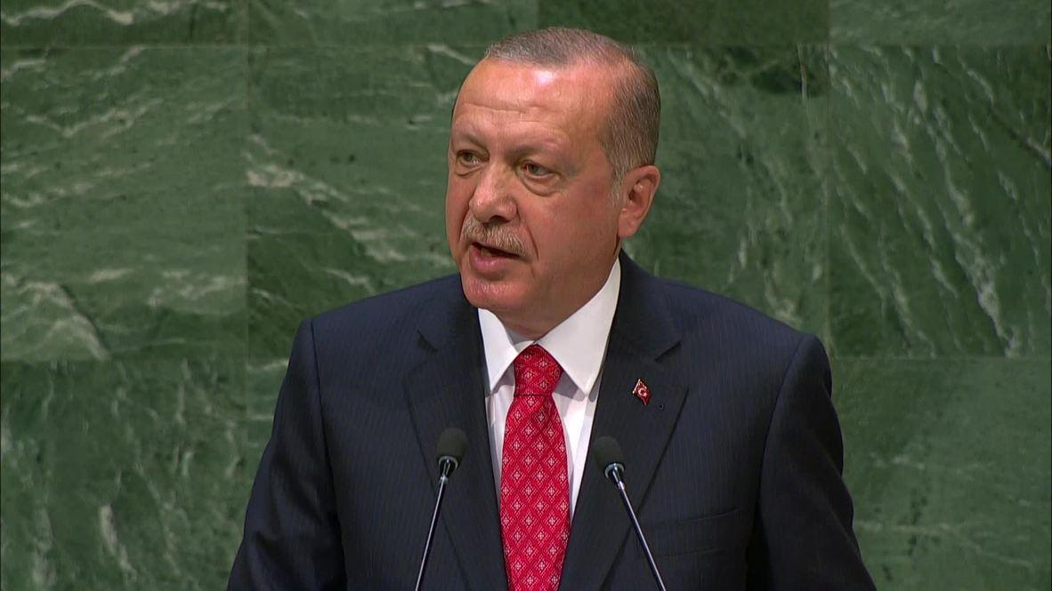 UN: Erdogan criticises Security Council for serving interests of veto members