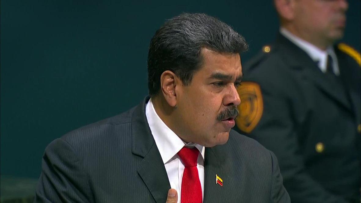 UN: Venezuelan President Maduro willing to meet Trump