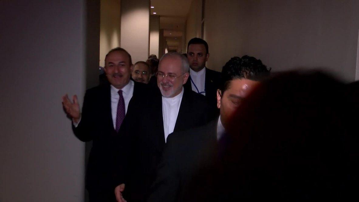 UN: Astana Guarantors hold ministerial meeting at UNGA
