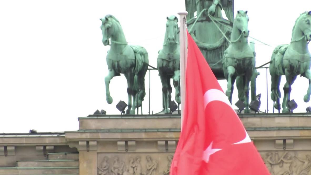 Germany: Massive security operation as Erdogan visits Berlin