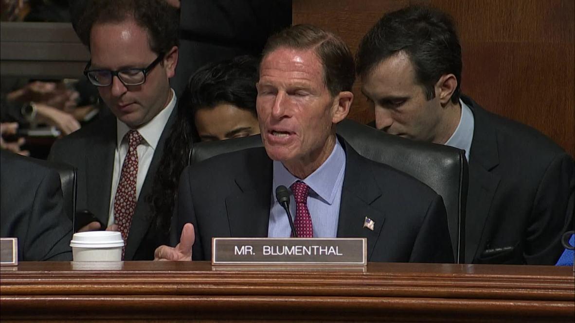 USA: Democrats walk out of Kavanaugh nomination hearing