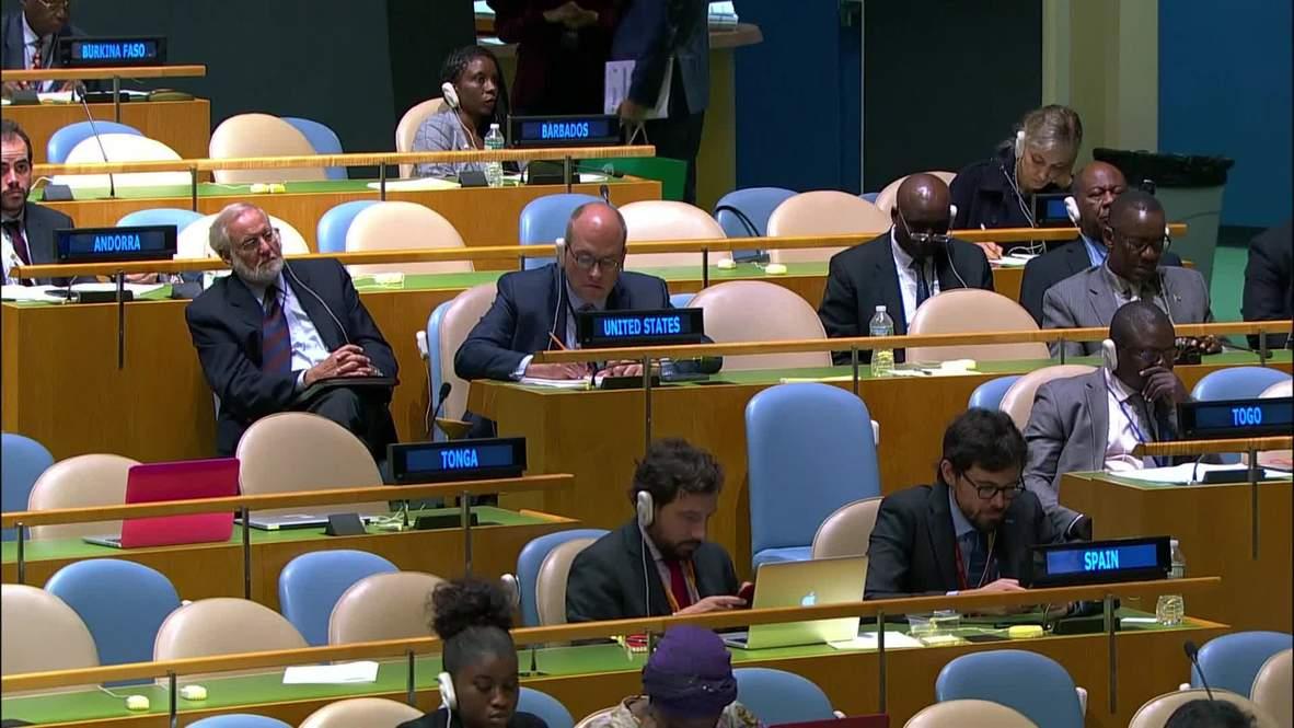 UN: Lavrov slams 'belligerent revisionism' of international law
