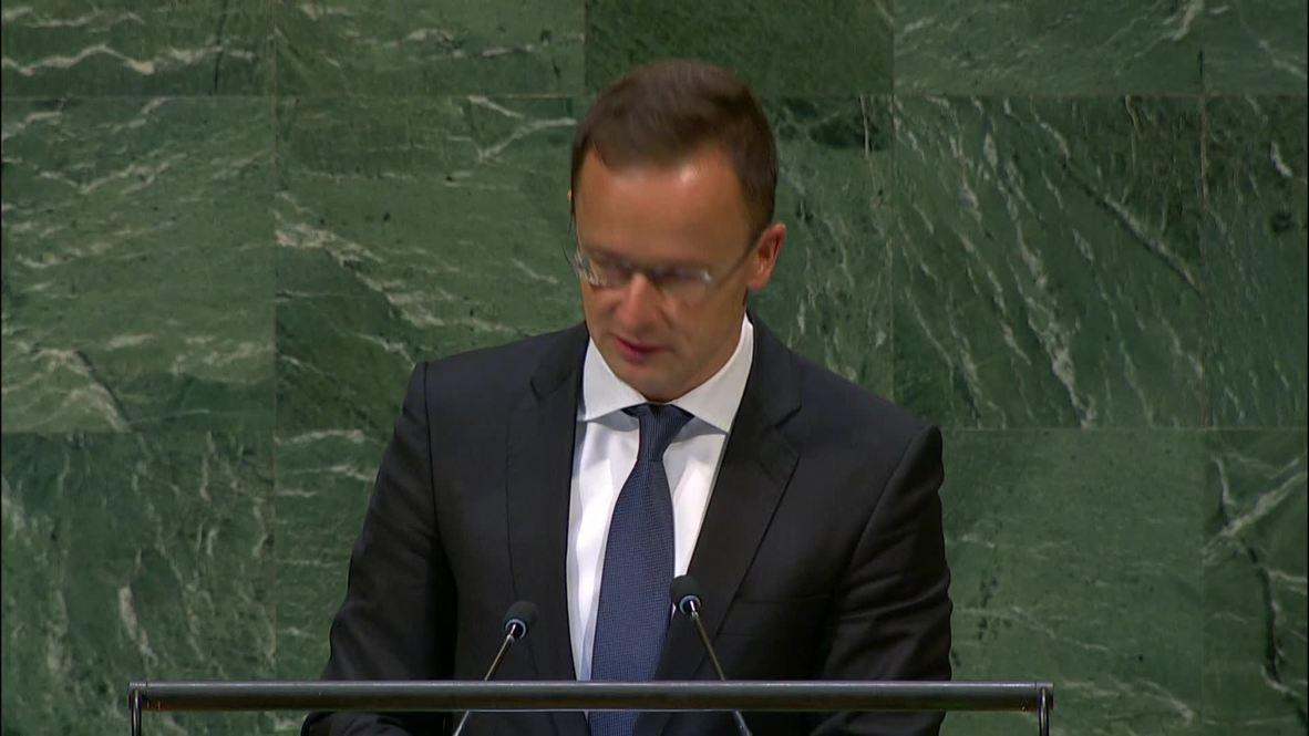 UN: Hungary slams EU's response to migration crisis