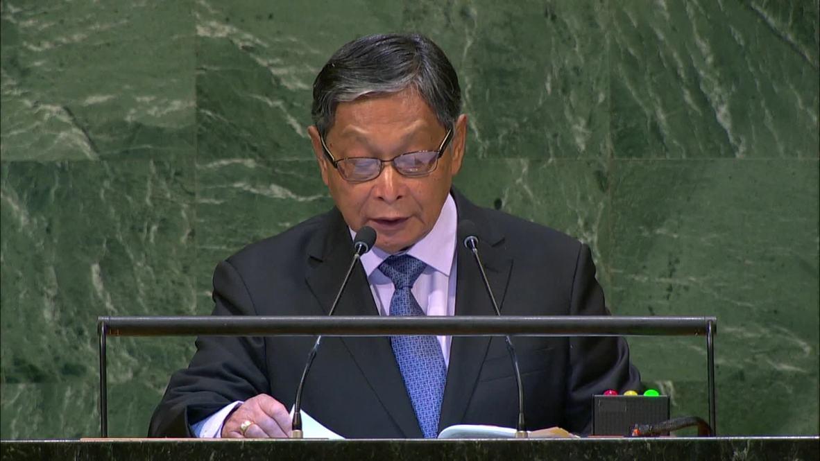 UN: Myanmar hits back at criticism over Rohingya crisis