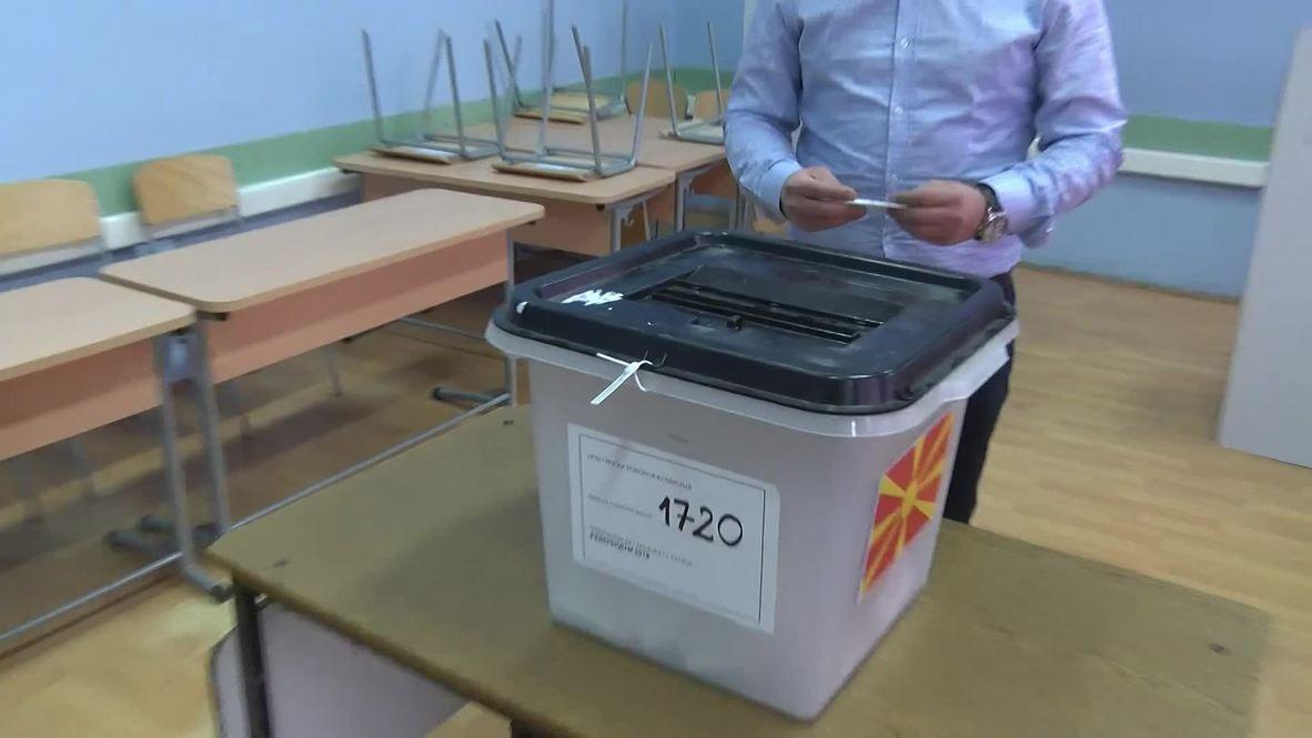 Macedonia: Strumica residents react to name-change referendum