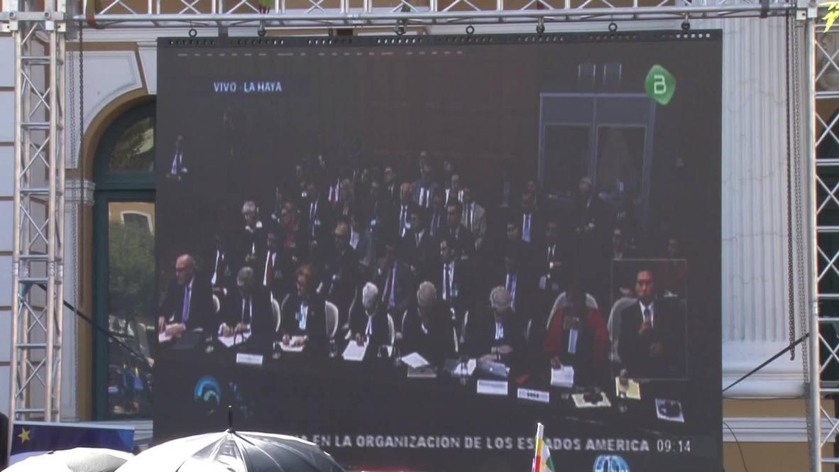 Bolivia: 'Sad but not defeated' - Bolivians on sea dispute failure