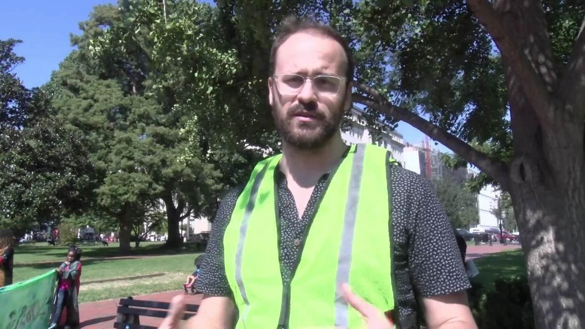 EE. UU.: Policía detiene a manifestantes en contra de Kavanaugh en Washington D. C.