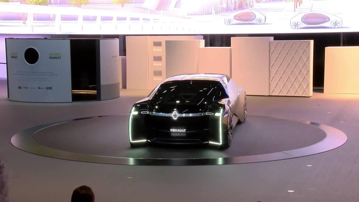 Francia: El elegante Ez-Ultimo de Renault destaca en el Salón del Automóvil de París
