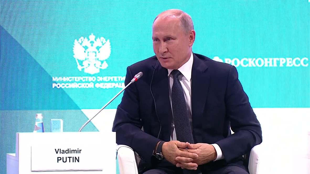 Russia: 'He's just a scumbag' - Putin on Skripal