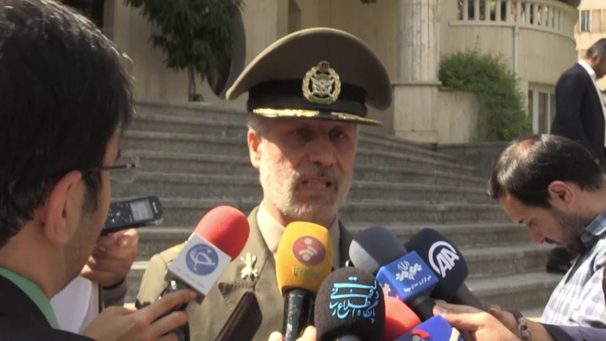 Irán: 'A quienes actúen contra Irán les espera una respuesta destructiva' - Ministro de Defensa