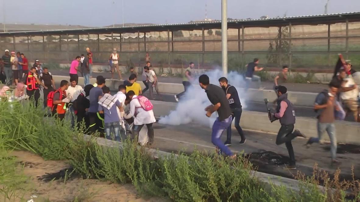 Estado de Palestina: Adolescente muerto a manos de las fuerzas israelíes en protesta fronteriza